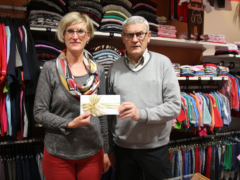 Spende von Firma Textilhofer