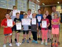 Tischtennis Vereinsmeisterschaft der Jugend 2018
