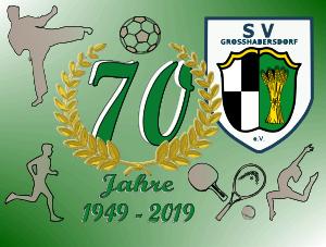 Vereinslogo 70 Jahre