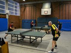 Tischtennis Pokalspiel