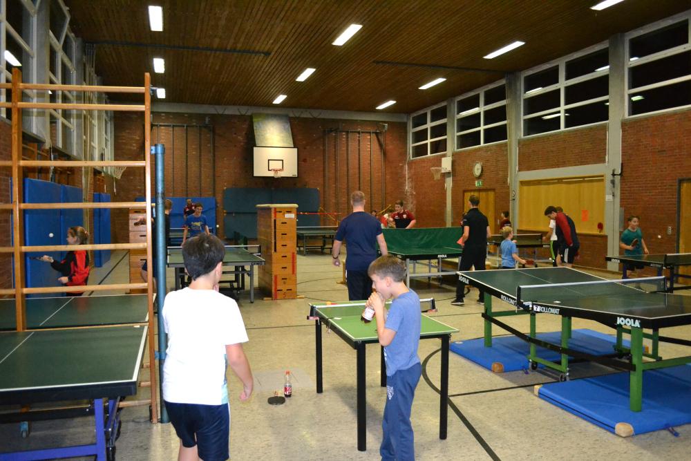 Jugendweihnachtsfeier Tischtennis