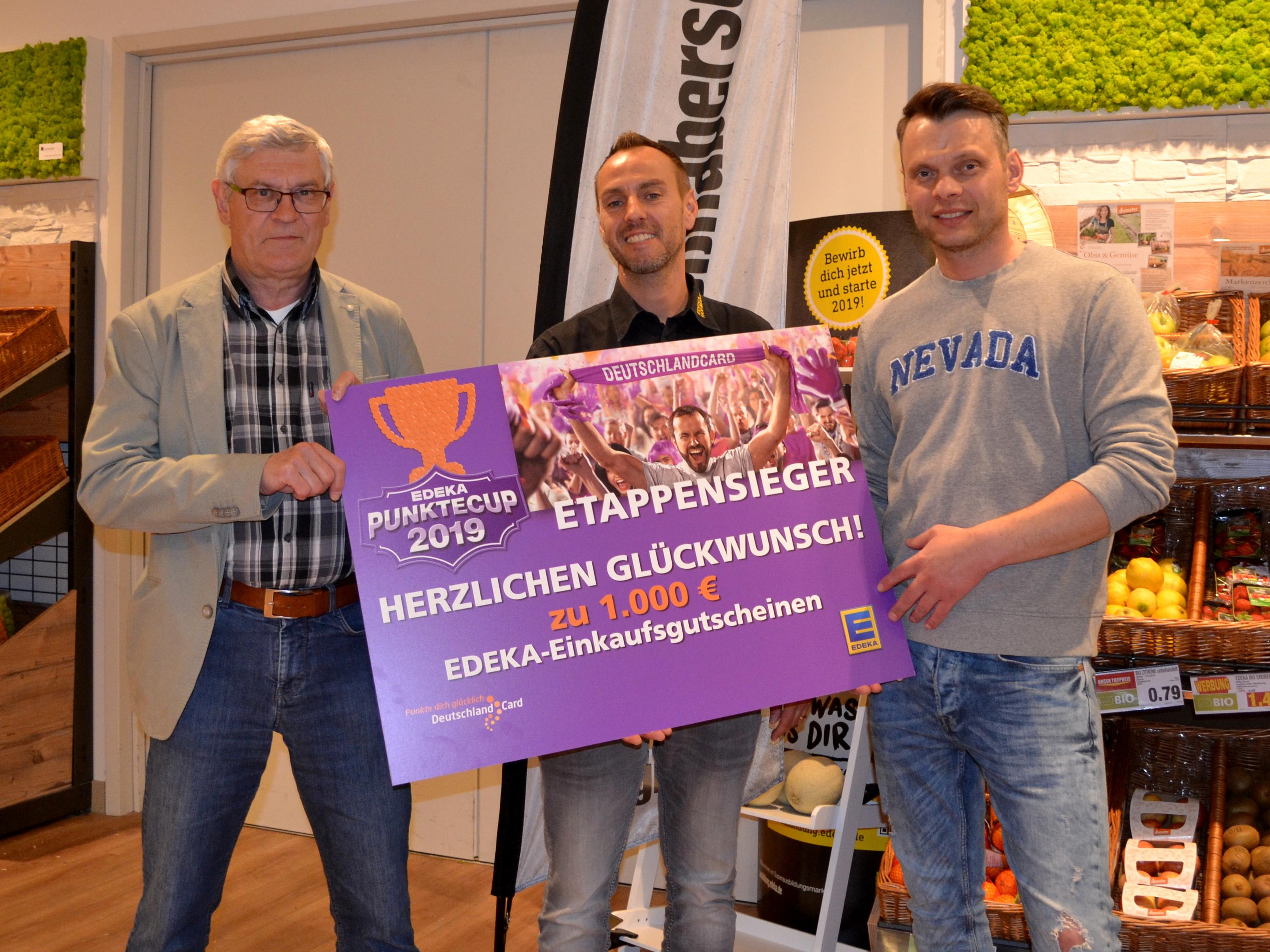 Edeka Gutschein Punktecup 2019
