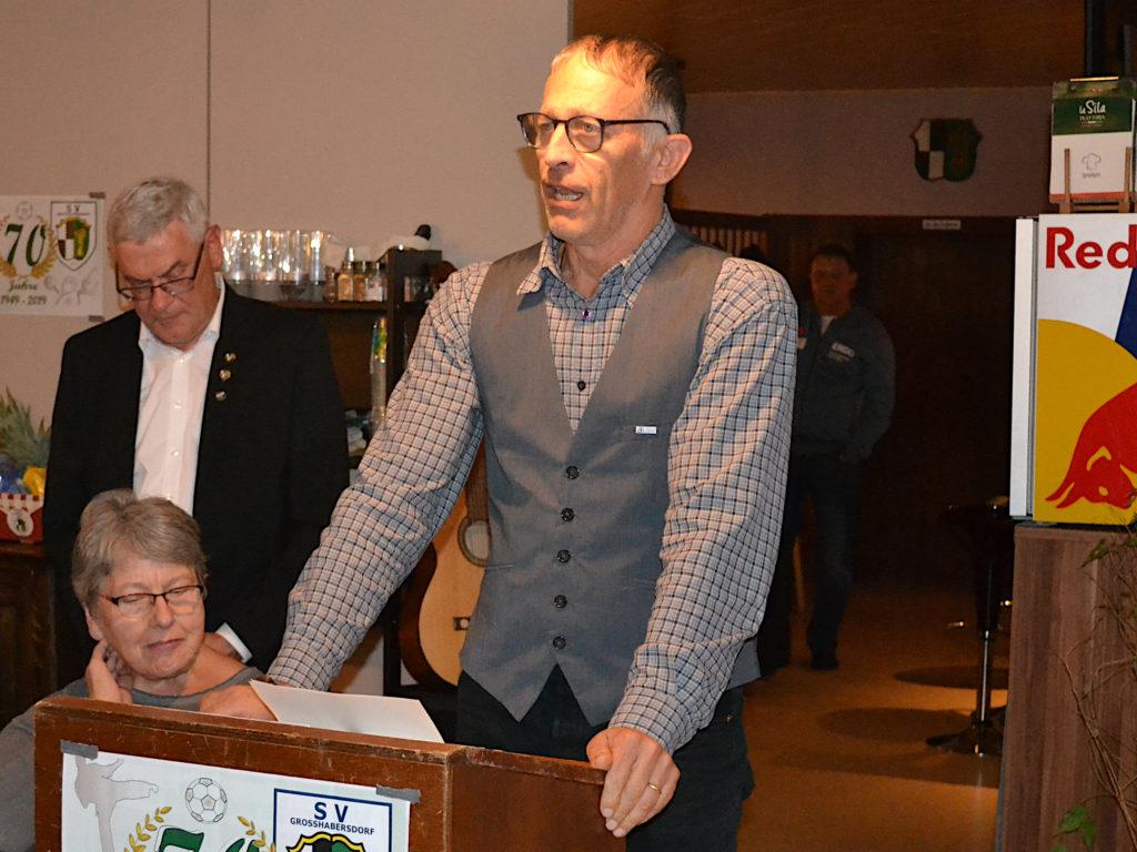 Ansprache Andre Eckert Kreisvorstand BLSV