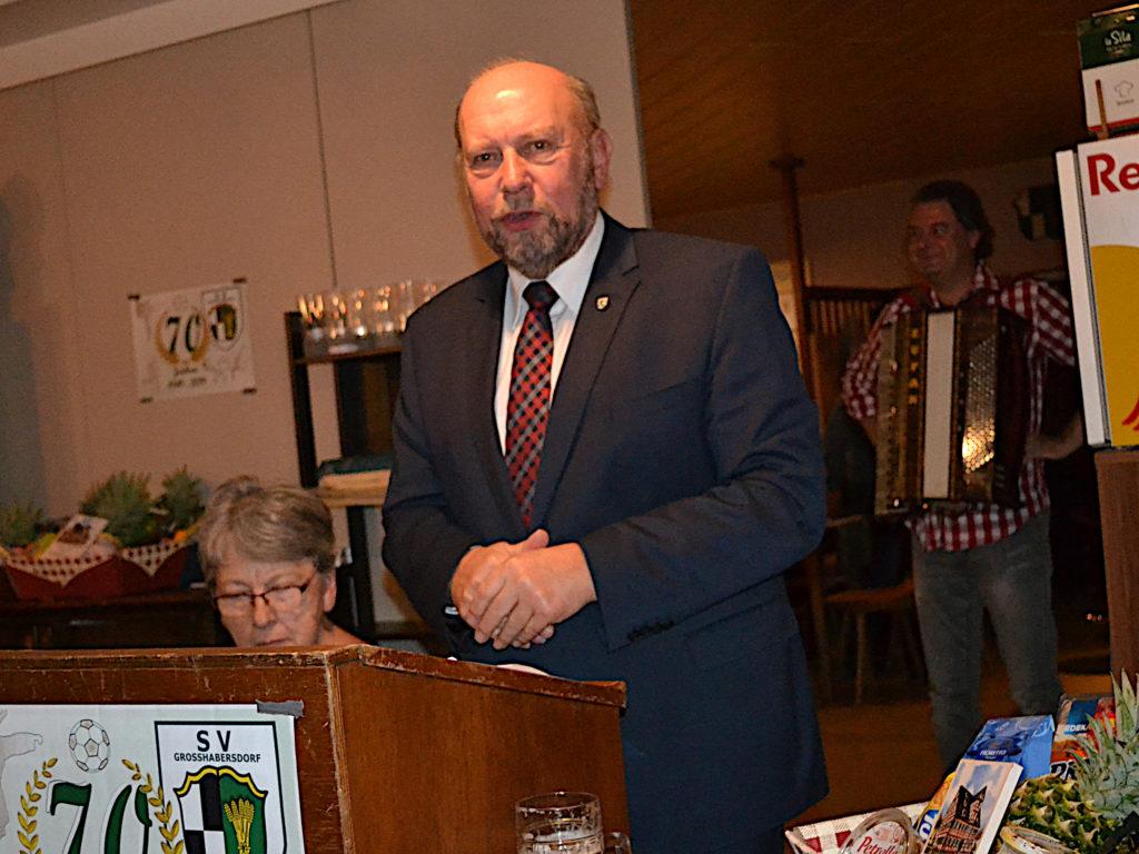 Ansprache Friedrich Biegel 1. Bürgermeister Großhabersdorf