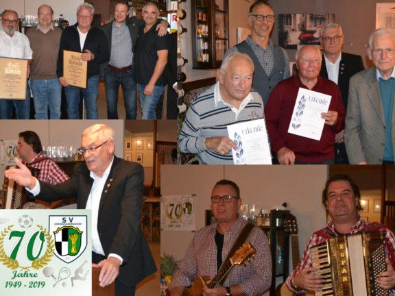 Ehrenabend 70 Jahre SV Großhabersdorf e.V.