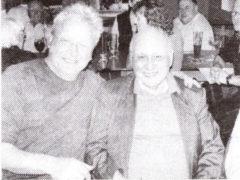 Heinz Breidenstein mit Harald Stender