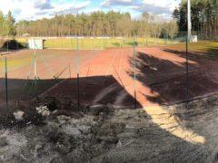 1. Sonderarbeitsdienst - Neubau Tennisplätze