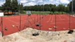 Neubau Tennisplätze