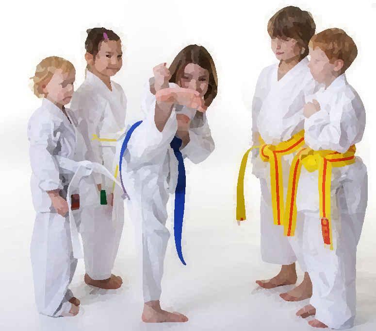 Karate - Kindertraining