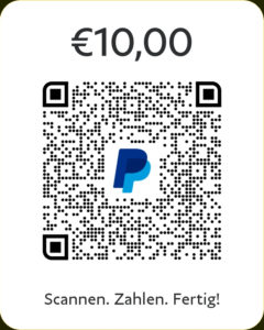PayPal Spende 10€